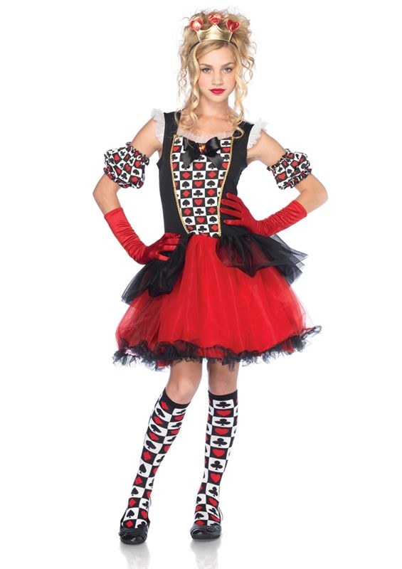 Playing Card Queen Junior Costume Price: $34.99
