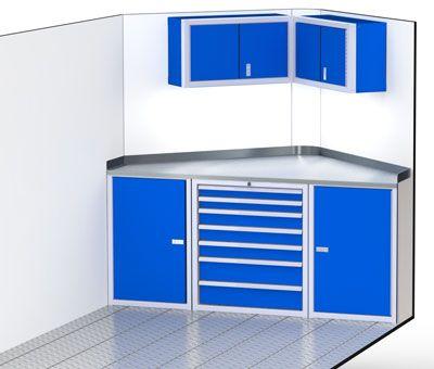 Aluminum Trailer Cabinets For V Nose Trailer Enclosed
