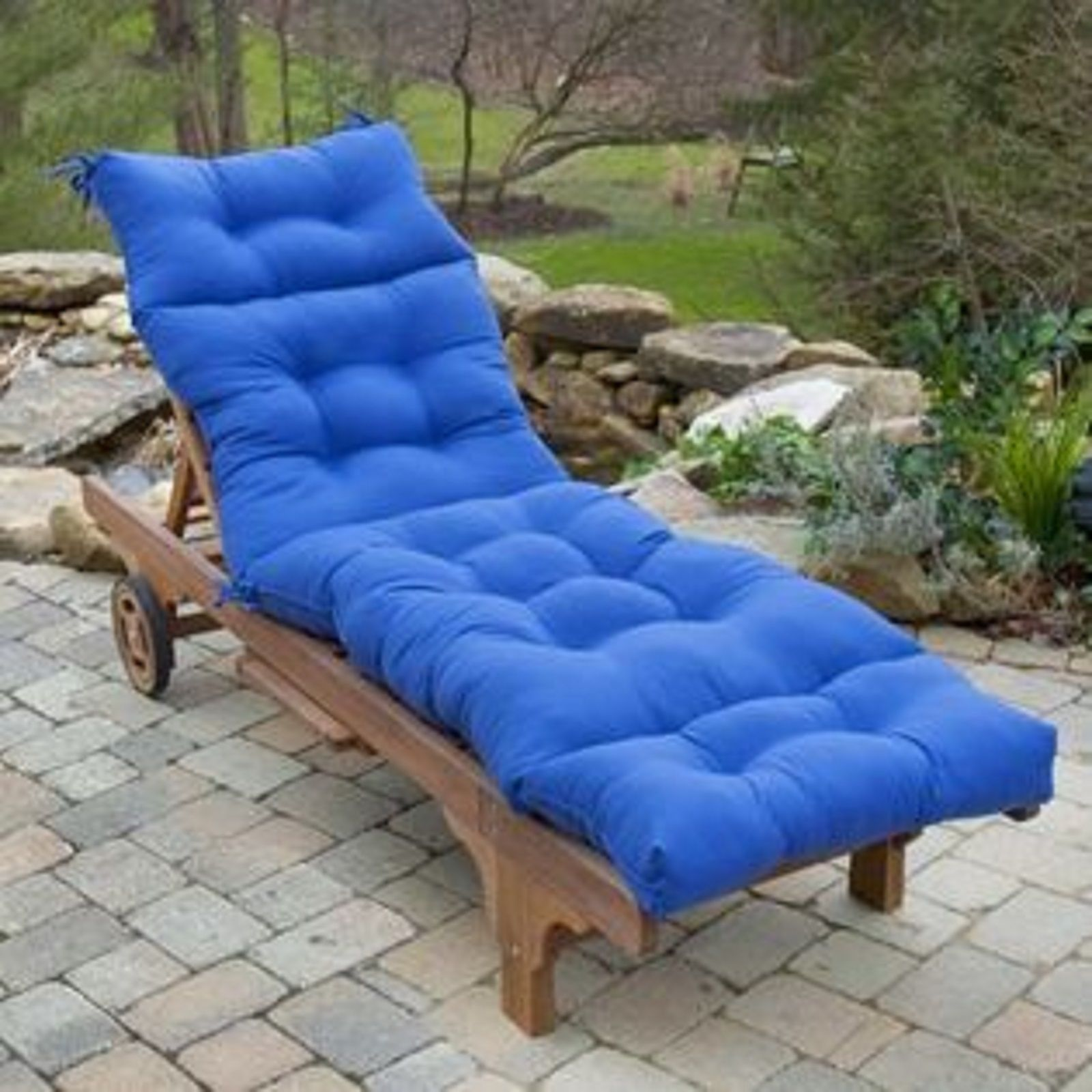 Royal Blue Chaise Lounge Cushions Greendale Home Fashions 20 Outdoor Chair Cushion Outdoor Chaise Lounge Cushions Chaise Lounge Cushions Outdoor Seat Pads