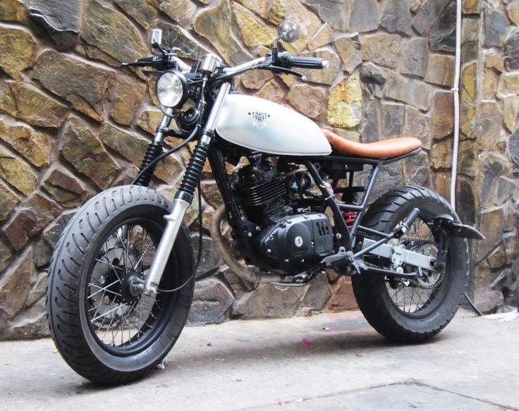 suzuki gn 125 chasis recherche google bike ideas pinterest scrambler motorbikes and. Black Bedroom Furniture Sets. Home Design Ideas