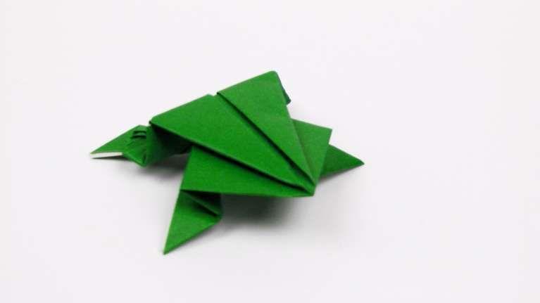 Fresh Origami Frog Base Best Photos For World Pinterest