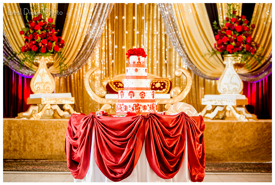 Sonal J Shah Event Consultants LLC Red And Gold Decor Ideas