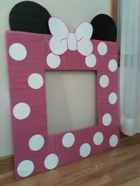 Minnie Mouse Picture Frame Layla S 2nd Birthday In 2019