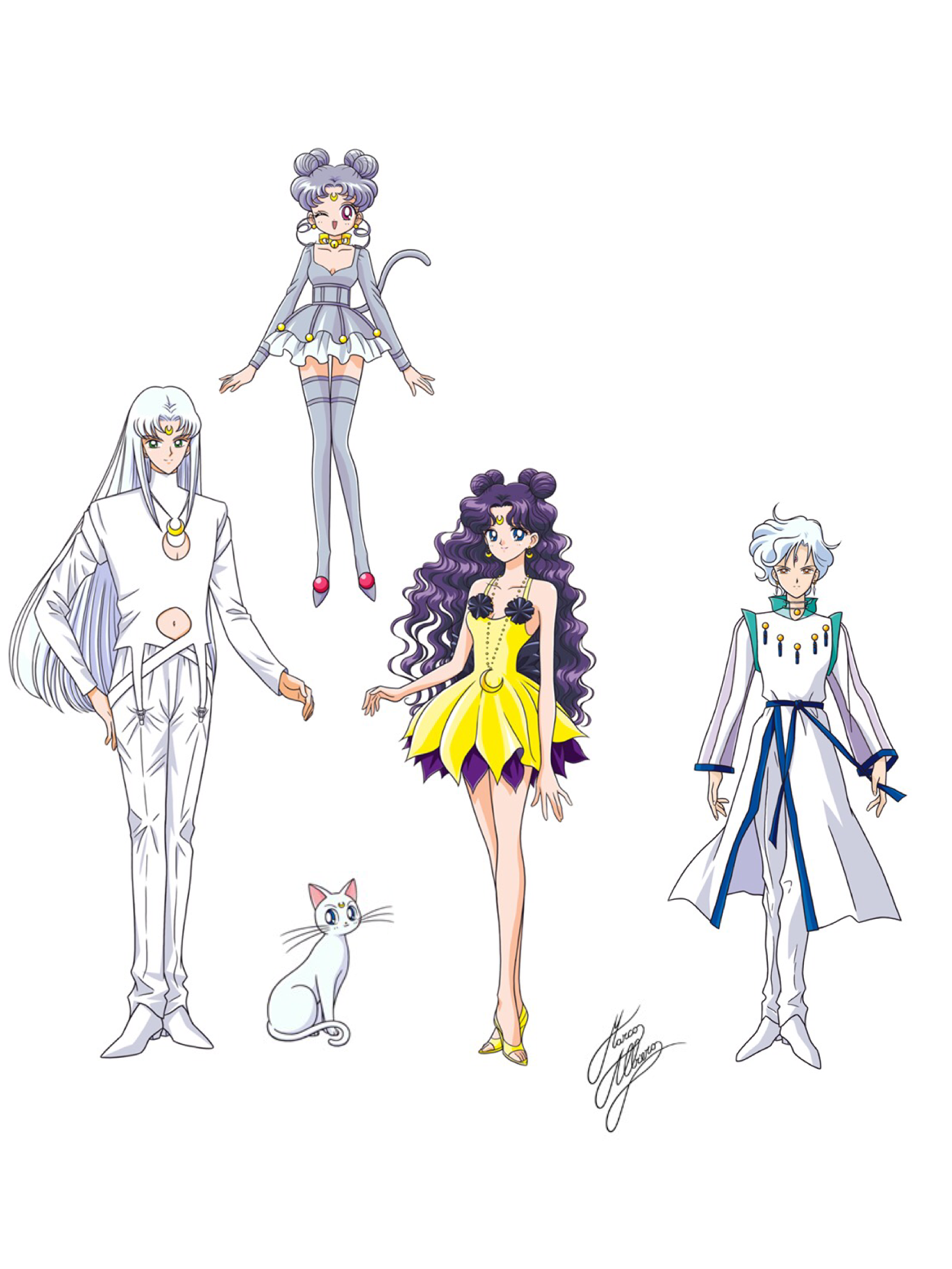 Allies Helios And Moon Cats Artemis Human Cat Forms