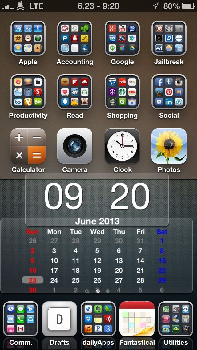 tip iphone home screen organization smartphones