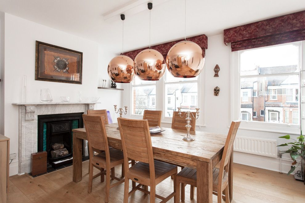Pendant Lights With Beautiful Copper Shades Become The Center Of Attention In Rooms