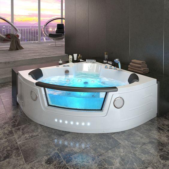 Los beneficios de usar bañeras hidromasajes   Whirlpool ...