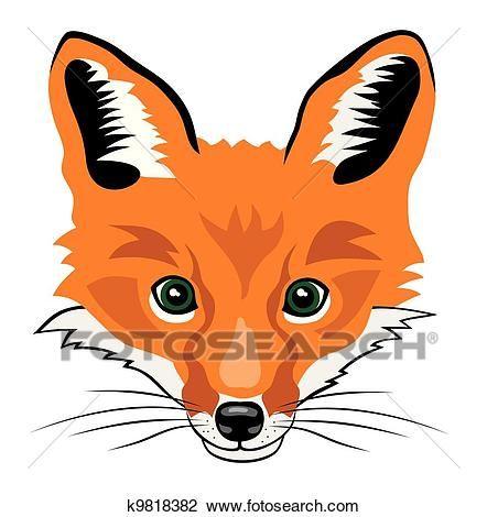 62bcf333f10 Fox Clipart in 2019 | Art | Cartoon drawings, Drawing cartoon ...