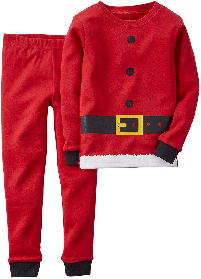 30a79f3a6f9c Carter s Santa Suit Pajamas - Toddler Boys 2t-5t Sales Off