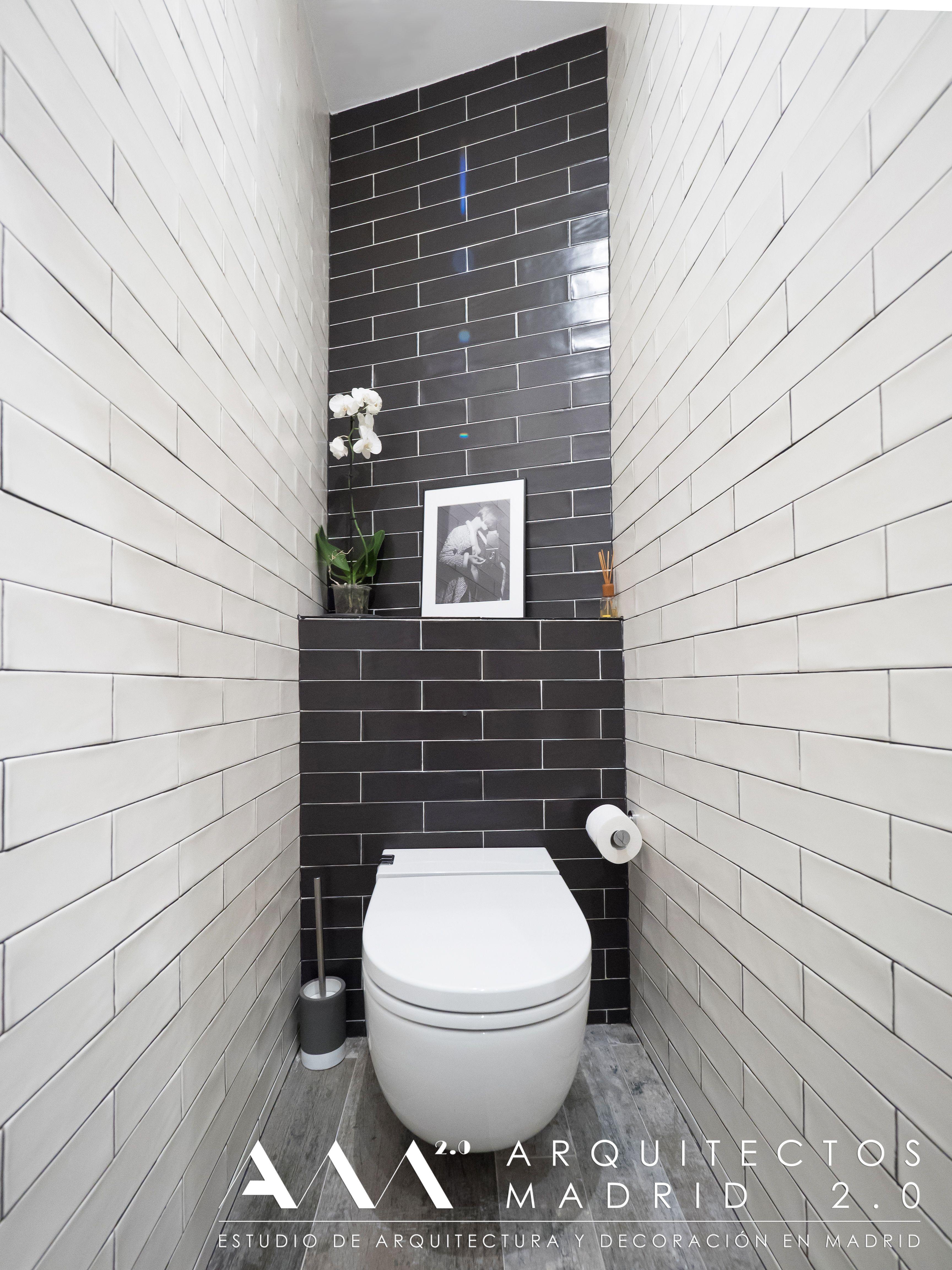 aseo en blanco y negro azulejo vintage ba os peque os