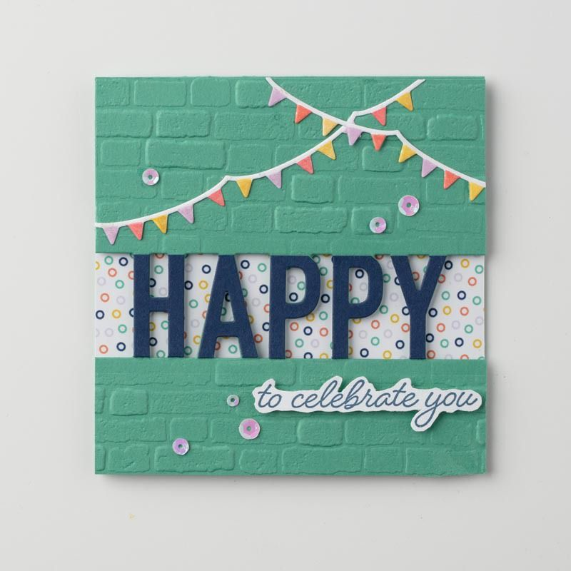 So Much Happy Bundle in 2020 Stampin up, Birthday cards