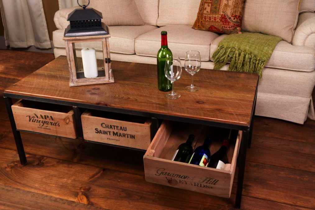 Need Some Coffee Help We Ve Got All You Need To Know Crate Coffee Table Coffee Table Vintage Wine Crate