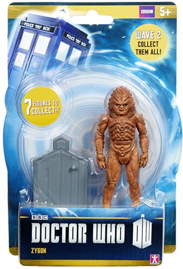ZYGON from DOCTOR WHO CHARACTER BUILDING MICRO FIGURE SERIES 4