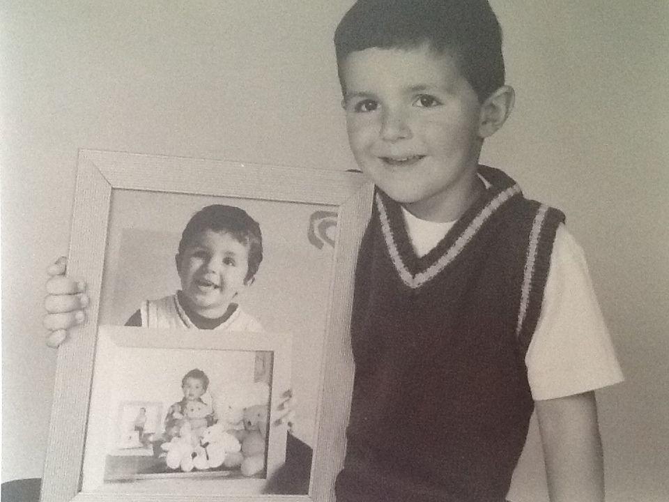 Foto van een foto van een foto van een.... 0 jaar, 1 jaar, 2 jaar, 3 jaar 4 jaar, 5 ...