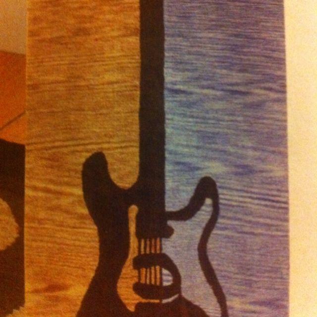 Guitar Rug 3x5 $99; 4x6 $169 Companykids.com
