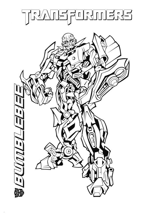 Transformers Coloring Pages Bumblebee Google Search Bee