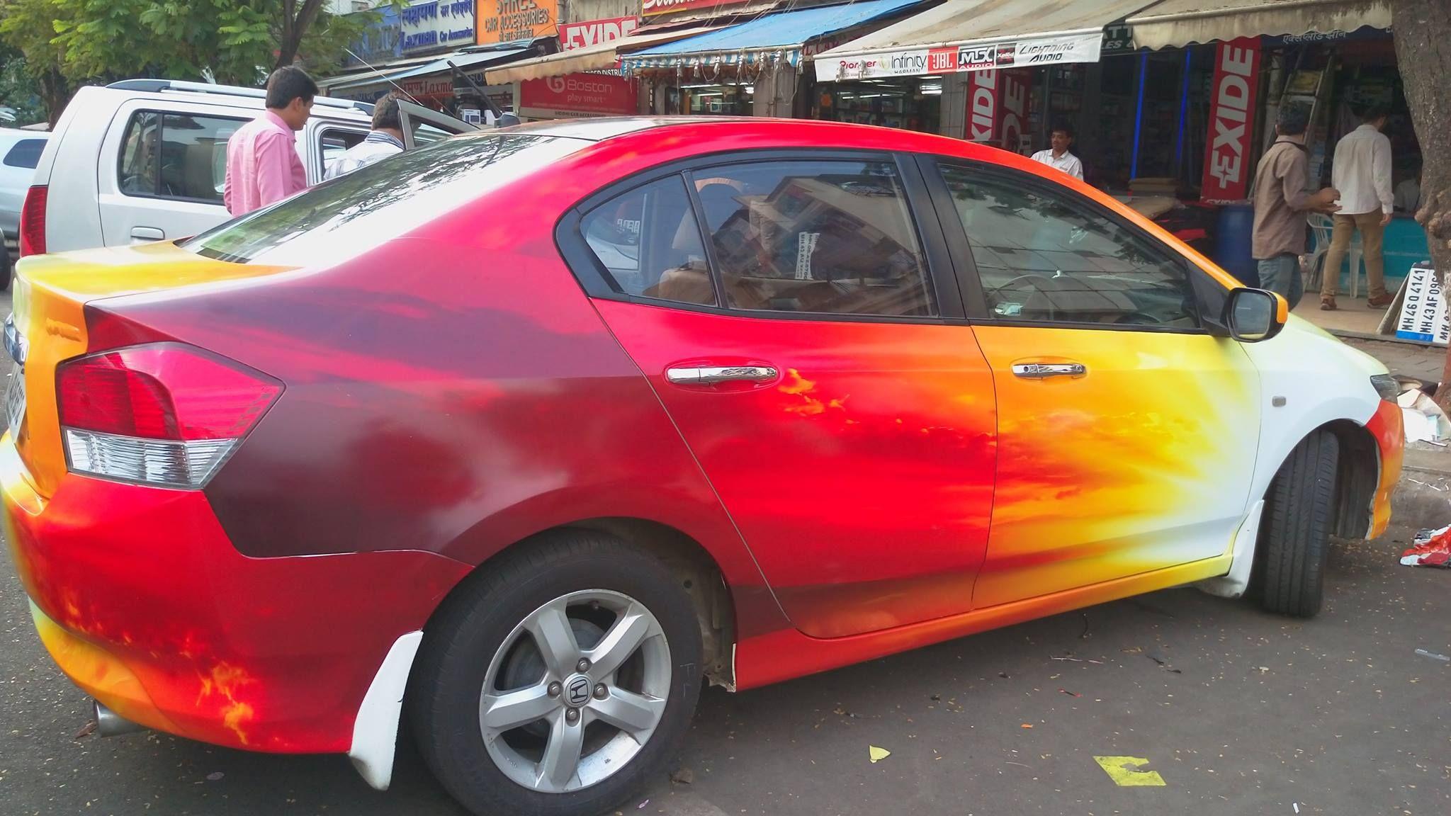 Honda City Wrap Honda City Auto Graphics Honda [ 1152 x 2048 Pixel ]