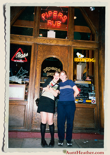 Me My Cousin Colleen In The South Side In Front Of Piper S Pub Night Out Before Our Friend Markelle Moved To Arizona Pittsburgh Night Out Pittsburgh Night