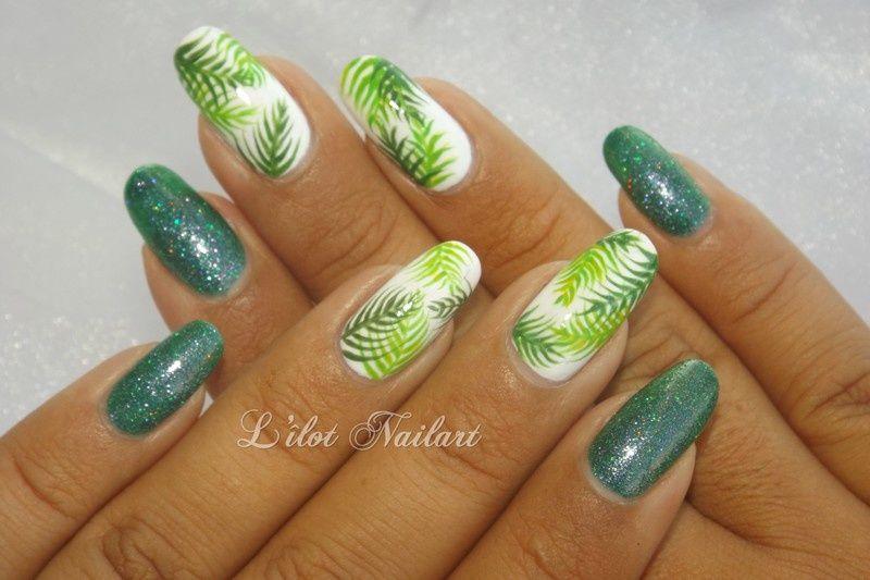Nail art tropical | Nail nail, Manicure and Nail inspo