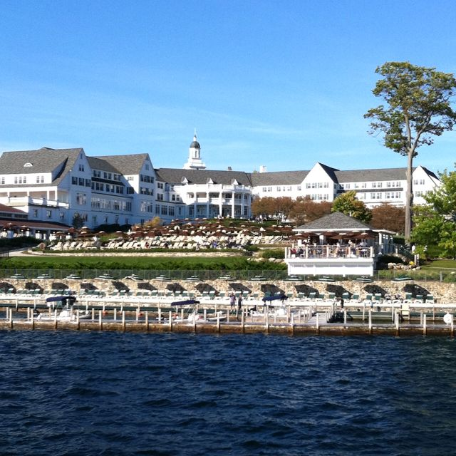 The Sagamore, first time we went away for an anniversary