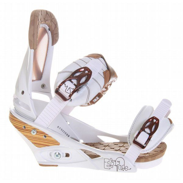 Burton Escapade Snowboard Bindings Natural White: 2009