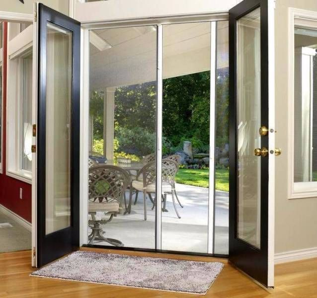 Diy Retractable Fly Screen Door Adjustable To Size