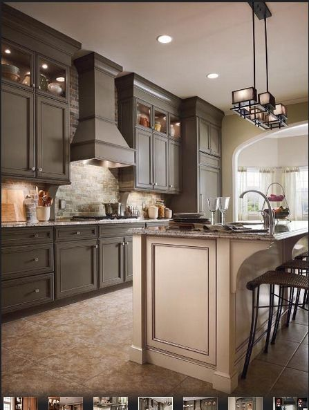 6 Square Sage Cabinets Kraftmaid Kitchens Kitchen Cabinets Prices Kraftmaid Kitchen Cabinets