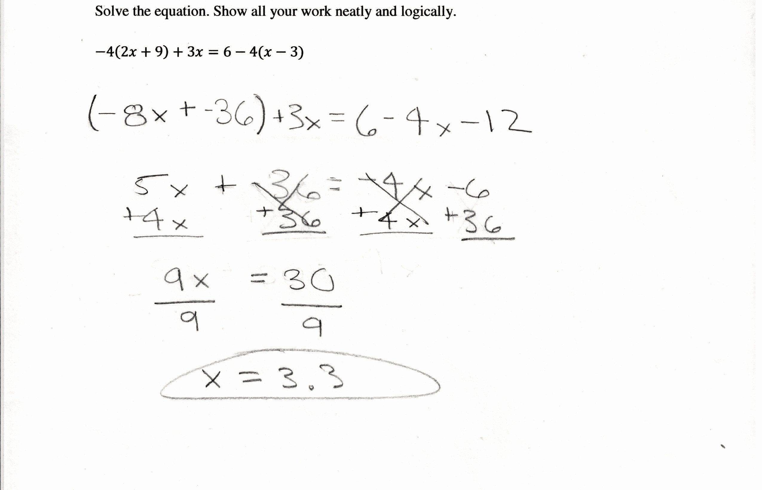 22 Distributive Property Equations Worksheet Try Worksheets