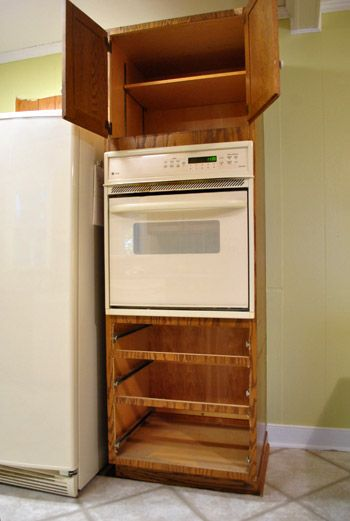 Moving Cabinets Around & Removing Granite Counters | Wall ...