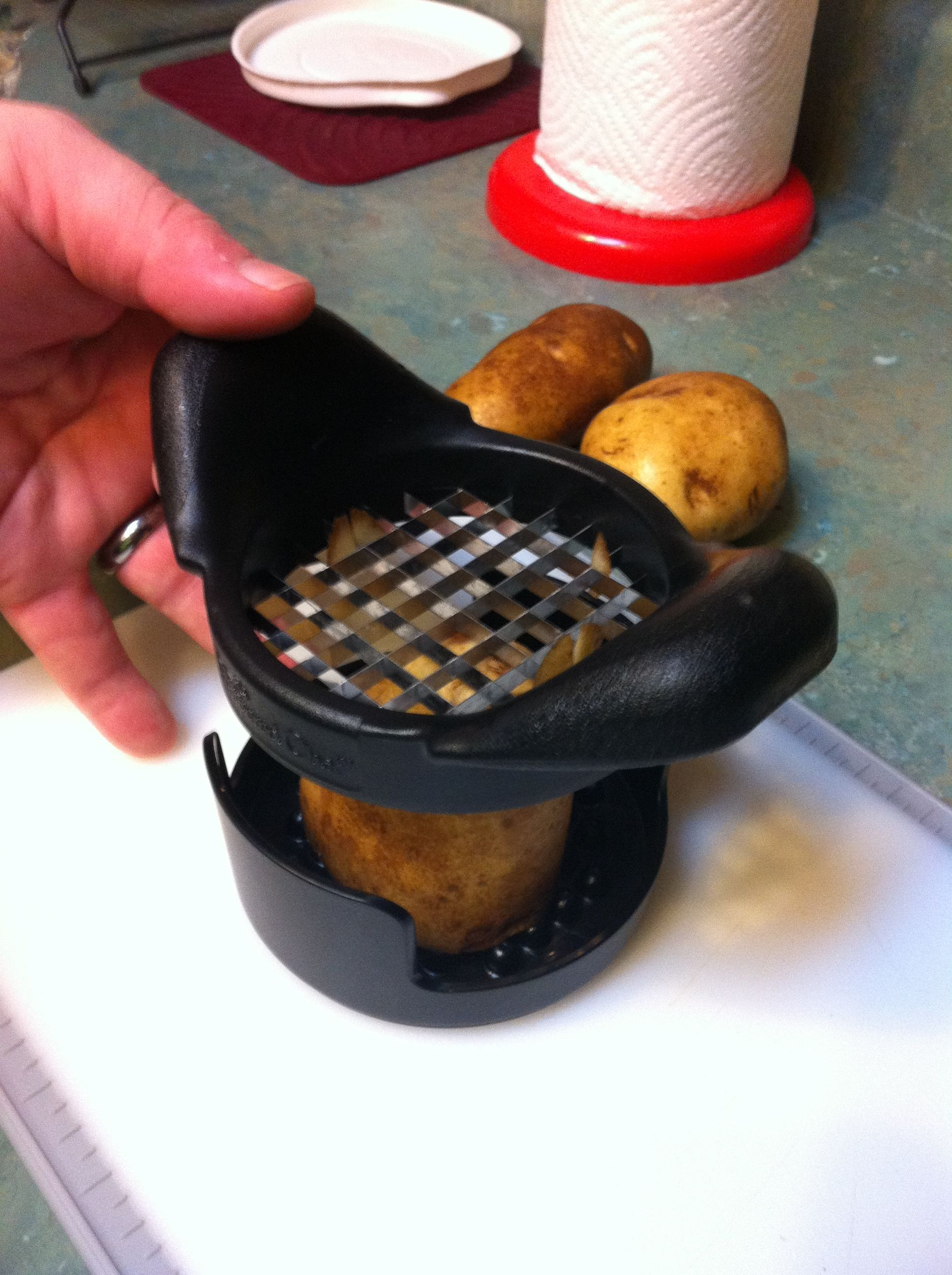 Pampered Chef S French Fry Cutter Makes Uniform