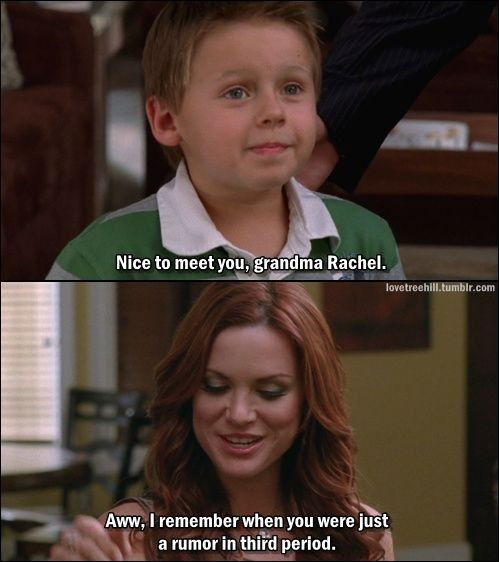 One Tree Hill I Don T Watch This But That S Funny One Tree Hill One Tree One Tree Hill Quotes
