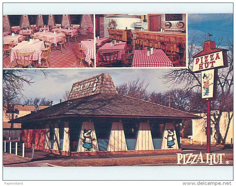 Pizza Delcampe Net Pizza Hut Postcard Occidental Hotel