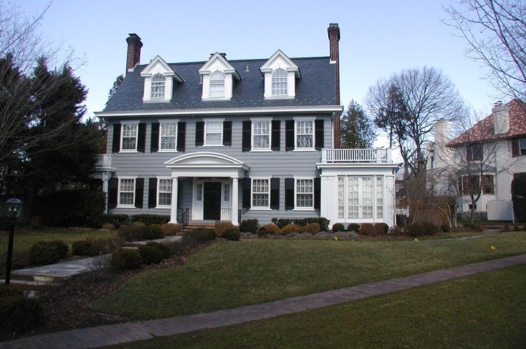 Colonial Revival The term generally refers to homes built