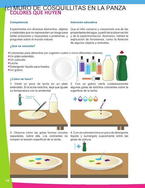 Cosquillitas En La Panza Blogs Ciencia En Preescolar Manual De Experimentos Para El Experimentos Científicos Para Niños Experimentos Experimentos Preescolar
