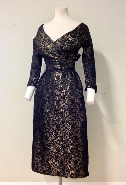 Evening Dress Silk Christian Dior Designer French 1951 52 Christian Dior Designer Fashion Evening Dresses