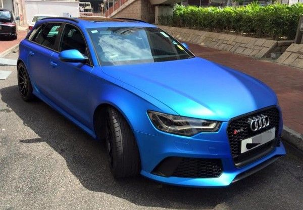 Matte Blue Audi Rs6 Is Serious Eye Candy Audi Rs6 Audi Audi Rs