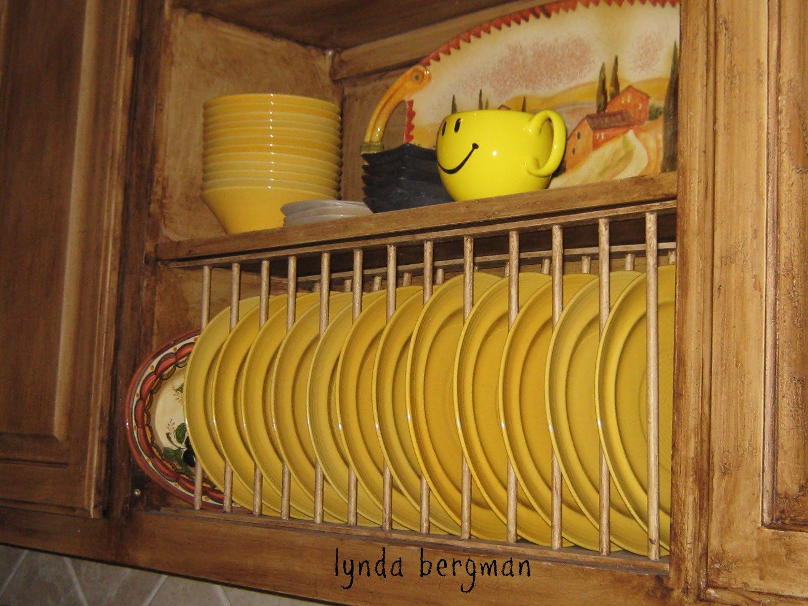 lynda bergman decorative artisan how to build install a plate ...