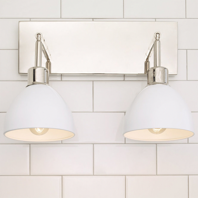 Photo of Young House Love Dapper Bath Light 2-Light – Shades of Light #Bathroomdiy