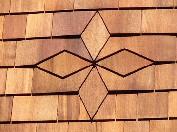 Cedar Shingle Diamond Pattern Rustic Boston By Austin Design Inc Cedar Shingles Cedar Shingle Roof Cedar Shingle Siding