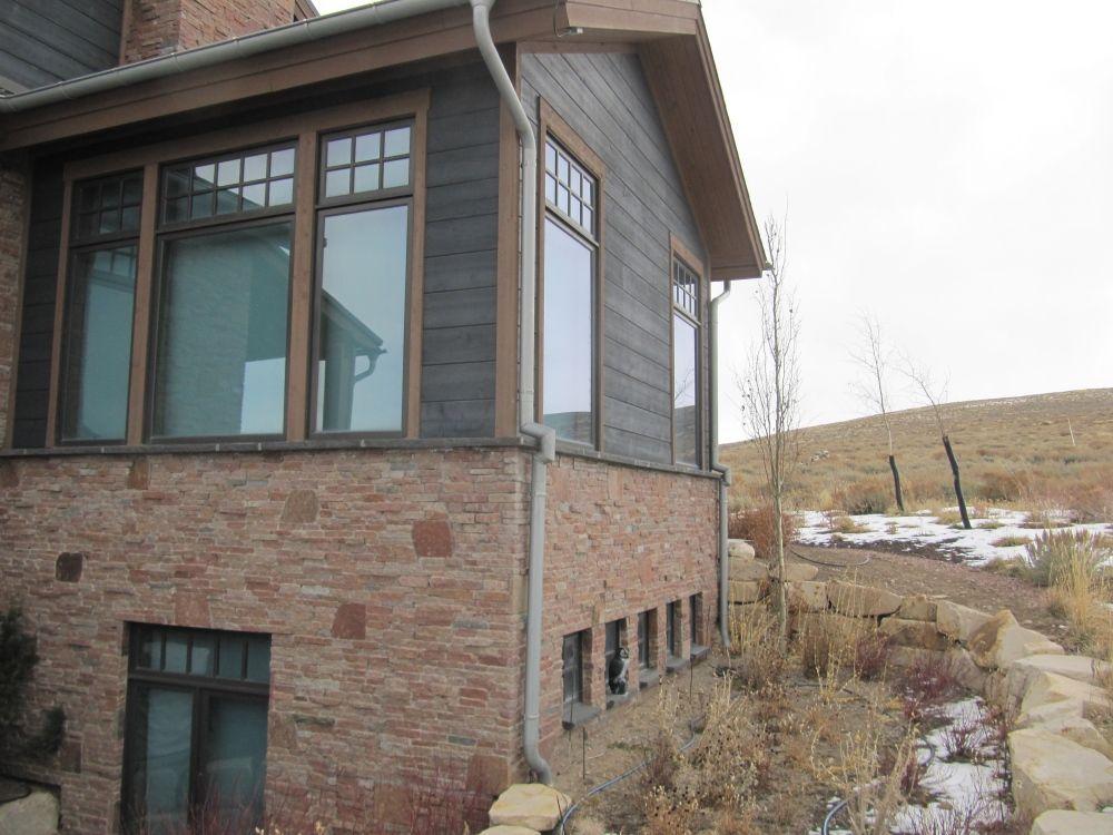 Custom Zinc Gutter And Downspouts Zinc Roof Standing Seam Standing Seam Roof