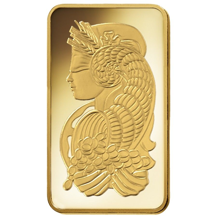 10 Oz Pamp Suisse Lady Fortuna Gold Bar 9999 Fine In Assay Gold Bullion Bars Gold Bar Gold Bullion
