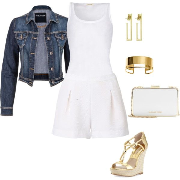 Untitled #17 by evy-siouti on Polyvore featuring American Vintage, Witchery, Michael Kors, MICHAEL Michael Kors, Jennifer Meyer Jewelry and By Malene Birger