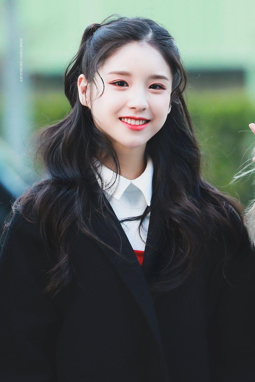 Yhinyeɾsye161010 Loona Jeon Heejin Kpop Hair Kpop Girl Groups Korean Girl