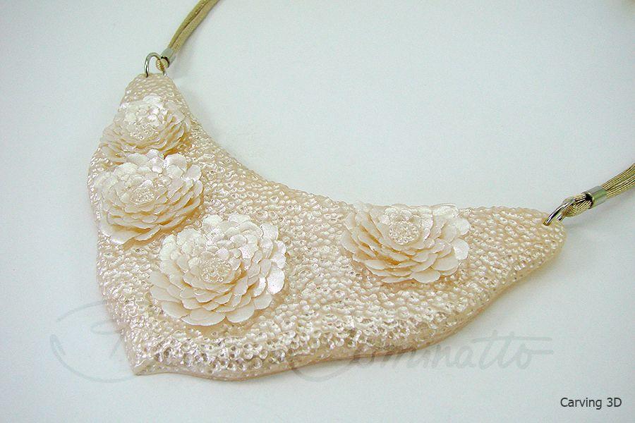 Peça inspirada na linda técnica das escamas esculpidas que a Paula Cruz fez.