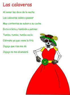 Cancion Las Calaveras Calaveras Literarias Para Maestros