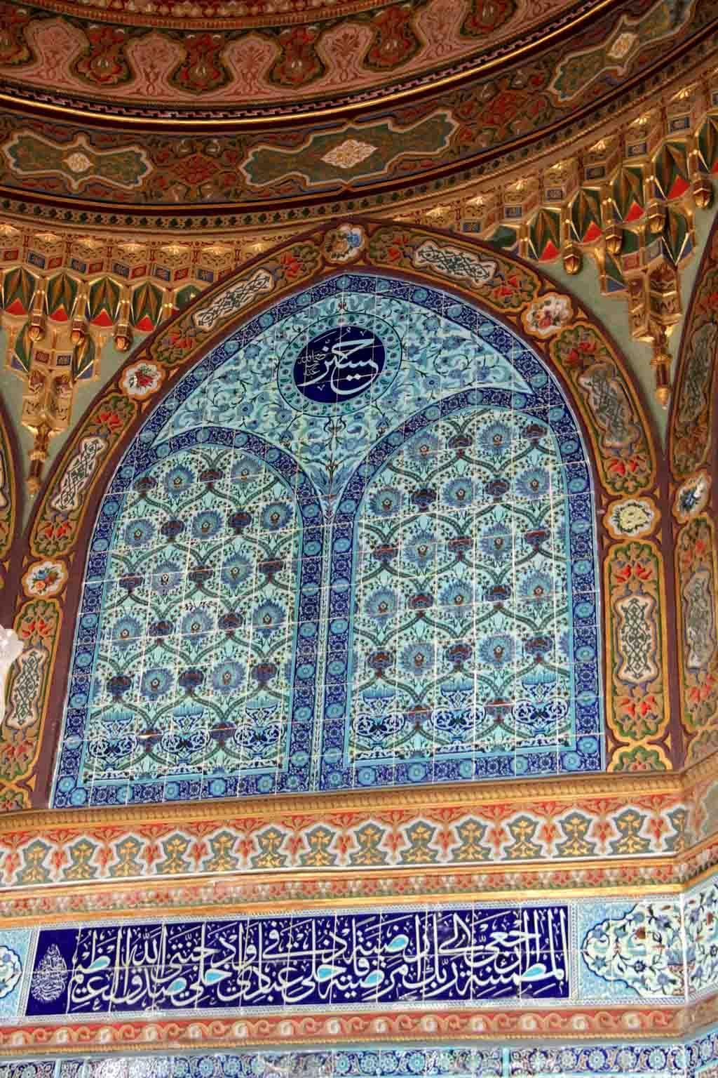 Tiles Mausoleum Of Sultan Mehmed Islamic Art