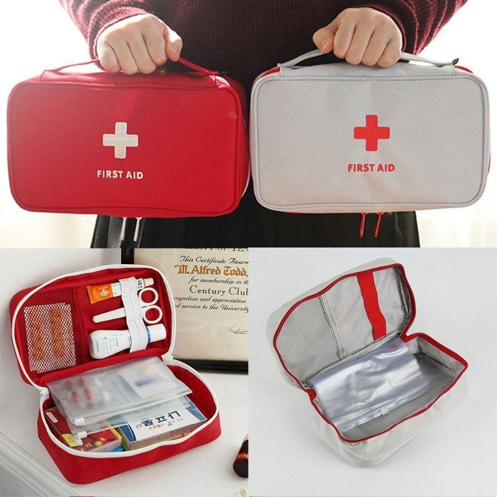 Med Aid™ First Aid Emergency Medical Kit #firstaid