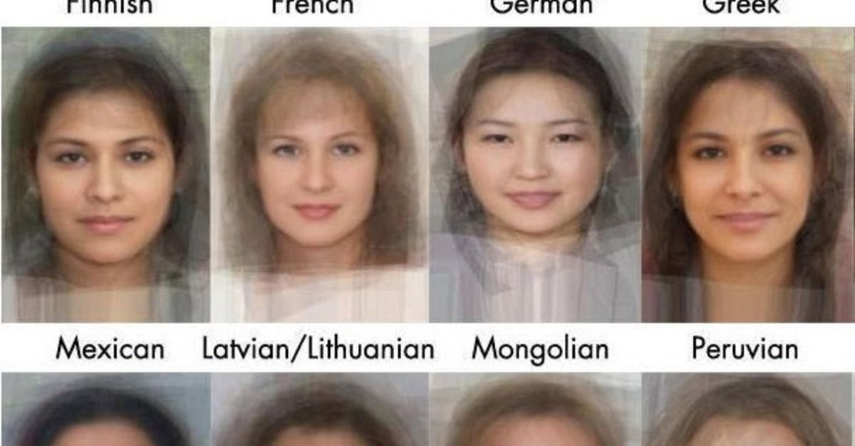 Software Calculates Appearance Of The Average Woman In 41 -8446