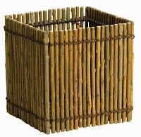175157 Syndicate 7701-12-9180 Willow Square Planter 5 inch Syndicate Sales Syndicate 7701-12-9180 Willow Square Planter 5 inch 5 inch Willow Square Planter Made Of Natural Willow Branches Hard Plastic Liner Included.…