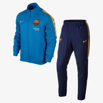 El FC Barcelona desvela el diseño de sus camisetas y ropa de entrenamiento e915567fc9c